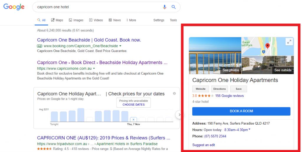 Set up a Hotel Business Listing on Google